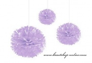 Pom Poms lila, 24 cm Durchmesser