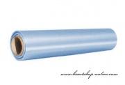 Satinstoff in Rolle hellblau