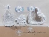 Detail anzeigen - Sektglass mit dem Satinblume