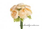 Detail anzeigen - Bouquet Rununnculus aprikot
