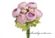 Detail anzeigen - Bouquet Rununnculus lila-rosa