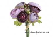 Detail anzeigen - Bouquet Rununnculus violett