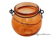 Detail anzeigen - Kerzenleuchter orange