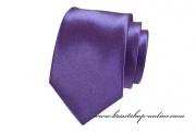 Detail anzeigen - Krawatte LUX violett