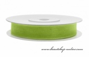 Detail anzeigen - Monofilband Apfelgrün, Breite 6 mm