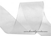 Monofilband weiss, Breite 40 mm