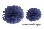 Pom Poms navy blue, 25 cm Durchmesser