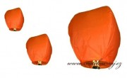 Detail anzeigen - Himmelslaternen in orange