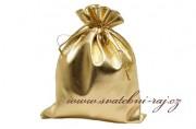 Detail anzeigen - Geschenksäckchen in gold