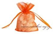Detail anzeigen - Geschenksäckchen in orange