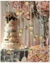 Schöne Perlenkette zur Dekoration