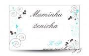 Detail anzeigen - Namensschild für die Hochzeitsgäste