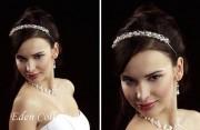 Wunderschöner Haarreif mit den Perlen