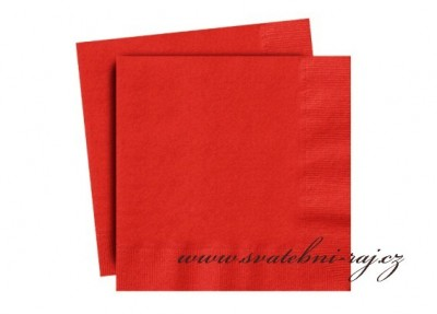 Rote Servietten