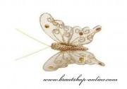 Detail anzeigen - Schmetterling gold, Grösse 5 cm