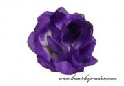 Detail anzeigen - Taftrose in violett