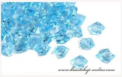 Eiskristallen blau