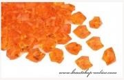 Detail anzeigen - Schöne Eiskristallen in orange