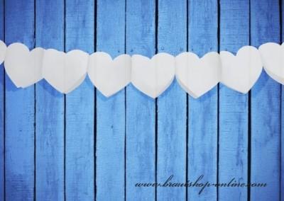 Girlande Herzen
