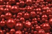 Detail anzeigen - Wachsperlen in rot