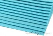 Detail anzeigen - Dekorativer Filz hellblau, Dicke 2 - 3 mm