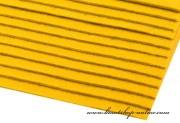 Detail anzeigen - Dekorativer Filz gelb, Dicke 2 - 3 mm