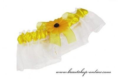 Strumpfband Sonnenblume
