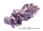 Schönes Strumpfband in lila
