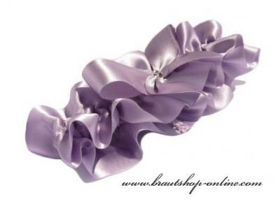 Strumpfband lila