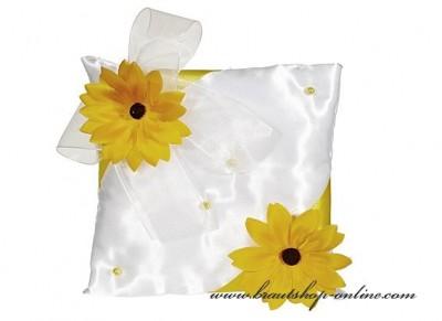 Ringkissen Sonnenblumen