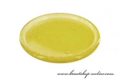 Glasplatte gelb