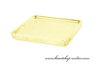Platte aus Glas