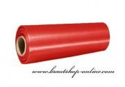 Satinstoff rot, 15 cm Breite