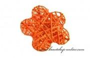 Detail anzeigen - Schöne Rattanblume in orange
