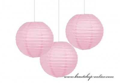 Papierkugel rosa