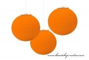 Kugel orange, 30 cm Durchmesser