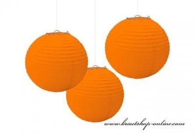 Dekorationskugel orange