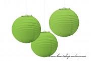 Dekorationskugel grün, Durchmesser 20 cm