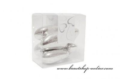 Krabička mandle stříbrné