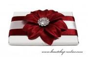 Detail anzeigen - Schöne Schokolade mit der Blume