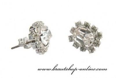 Ohrringe Kristallglas