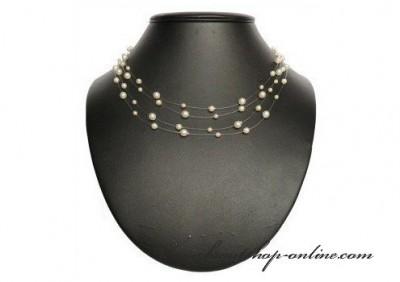 Halskette Perlen