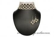 Detail anzeigen - Exklusives Brautset aus den Perlen