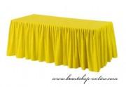 Detail anzeigen - Tischdecke Skirting - gelb