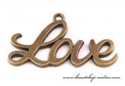 Detail anzeigen - Anhänger LOVE