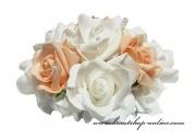 Bouquet aus den Schaumrosen