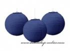 Dekorationskugel navy blue, Durchmesser 20 cm
