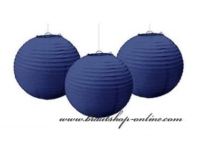 Dekorationskugel navy blue, Durchmesser 25 cm
