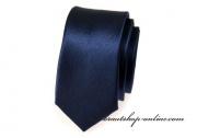 Detail anzeigen - Hochzeitskrawatte navy blue