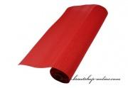 Juteschärpe in rot